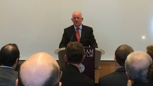 Charlie Flanagan said Ireland's unique circumstances must be taken into account in the Brexit negotiations