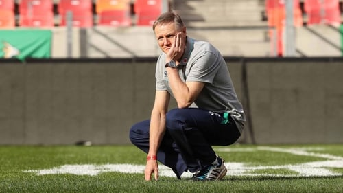 Joe Schmidt brings his side to the USA and Japan this summer