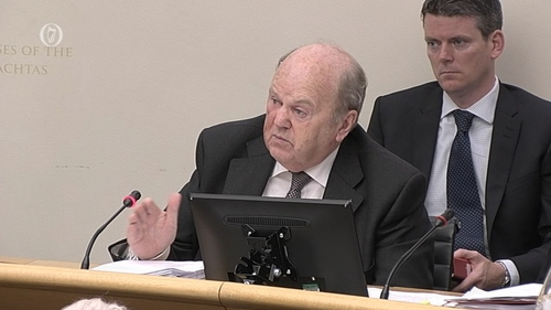 Michael Noonan was before the new Oireachtas Budget Oversight Committee today