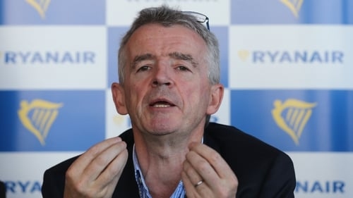 Ryanair CEO Michael O'Leary says airline to issue strong set of results next week
