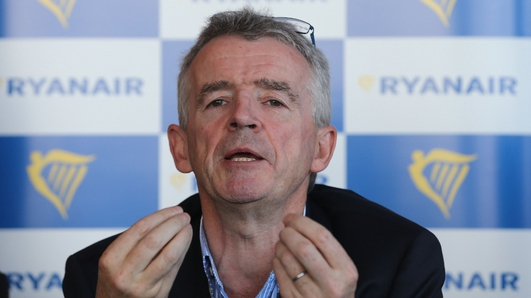 Ryanair sees risk to 2020 growth if 737 MAX grounded beyond November