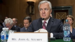 The bank's John Stumpf will not get a salary while the review into Well Fargo's sales practices is carried ou