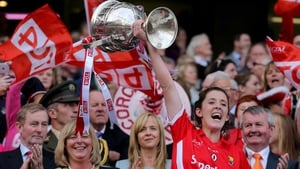 Ciara O'Sullivan will be hoping to hoist the Brendan Martin Cup on Sunday