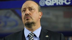 Rafa Benitez is looking at a Premier League reture