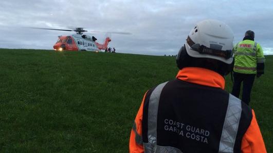 Children injured after an explosion in Cork