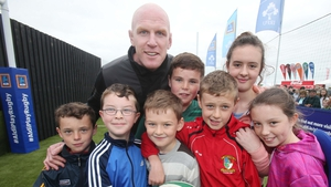 Paul O'Connell was at the National Ploughing Championship '16 to promote a new rugby initiative aimed at children in primary schools. The former Ireland captain had sound advice to tackle Ireland's growing obesity problem.