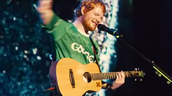 Did Ed lose his heart to a Galway girl?