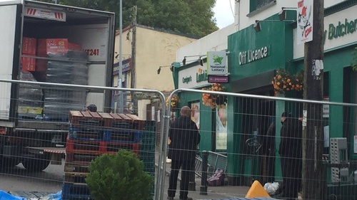 Stock is taken from Corrigan's Londis on foot of a court order