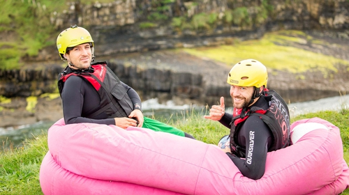 Marko and Alex are two vlogging brothers travelling the world one continent at a time. The Californian duo spent last year travelling the Wild Atlantic Way and have returned this year to explore Northern Ireland.