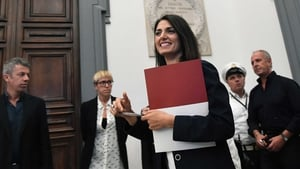 Virginia Raggi was emphatic in her message on the Olympic bid