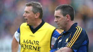 Clare joint-managers Gerry O'Connor (r) and Donal Maloney