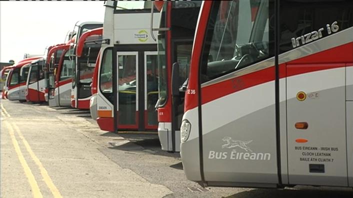 Bus Éireann warns company could fail with loss of 2,600 jobs