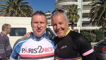It's the final day of Shay Byrne's cycle from Paris to Nice. Read how he handles the last 110kim from St. Maxime to Nice!
