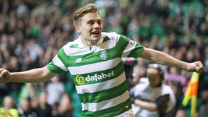 James Forrest is confident Celtic can handle the pressure of 10-in-a-row