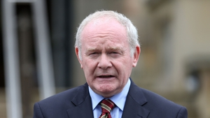 Martin McGuinness said he would like to see anyone invited attend