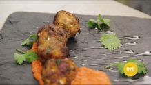Lynda Booth from the Dublin Cookery School shows us how to make Mediterranean Meatballs with Piquillo Pepper Sauce and Cucumber Salad.