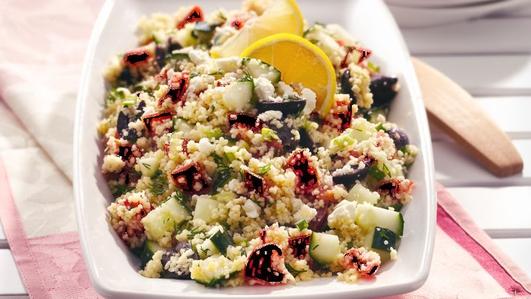 Nevens Recipes - Mediterranean  Couscous Salad