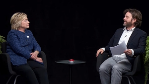 Hillary Clinton perfects her deadpan comeback on Zach Galifianakis' Between Two Ferns