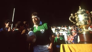 Donal Lenihan led Ireland at the inaugural World Cup in 1987
