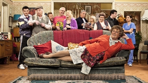 Sofa so good for Mrs Brown's Boys
