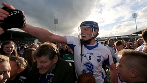 Austin Gleeson celebrates after Waterford's All-Ireland triumph
