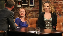 The Late Late Show Extras: Ellen Keane, Niamh McCarty and Daraine Mulvihill