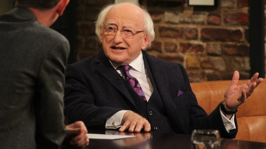 The Late Late Show: President Michael D. Higgins