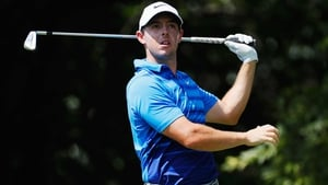 Rory McIlroy fractured a rib earlier this month
