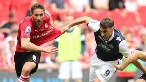 Conor Hourihane (L) has been called up to Martin O'Neill's extended panel