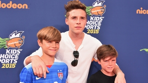 Romeo, Brooklyn and Cruz Beckham