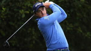 Paul Dunne in action earlier this year