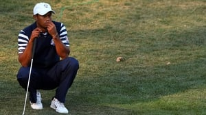 Tiger Woods will look to prevent the US slipping to their fourth straight Ryder Cup defeat