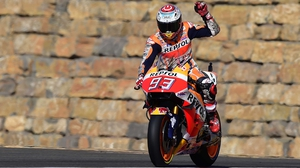 Marc Marquez earned the 64th pole of his career