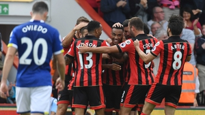 Junior Stanislas (c) put Bournemouth on the road to three points