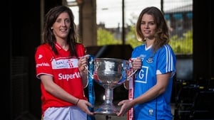 Rival senior captains - Ciara O'Sullivan and Noelle Healy