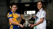 Clare's Laurie Ryan and Aisling Holton of Kildare