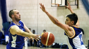 Paddy Mullan of Belfast Stars and Patrick McCarthy of UL at the weekend