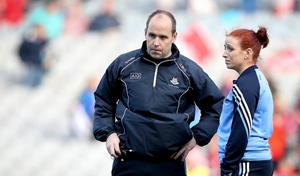 Dublin manager Gregory McGonigle has hit out at the LGFA