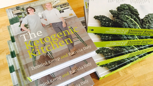 Check out Emma Dunne's review of The Ketogenic Kitchen by Domini Kemp and Patricia Daly, Gill Books, 2016