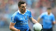 Paddy Andrews was the first Dublin player to register a point in the final