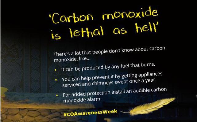 Carbon Monoxide Awareness Week