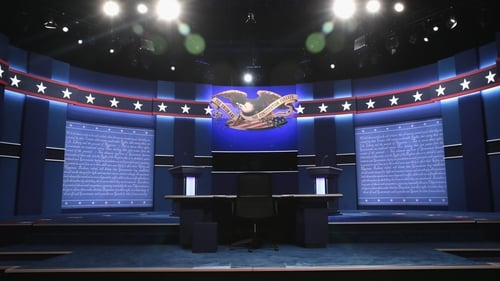 The first presidential debate was due to attract record viewership figures