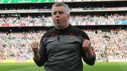 Stephen Rochford leads Mayo into the replay at 5pm on Saturday