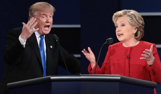 Trump V Hillary Debate