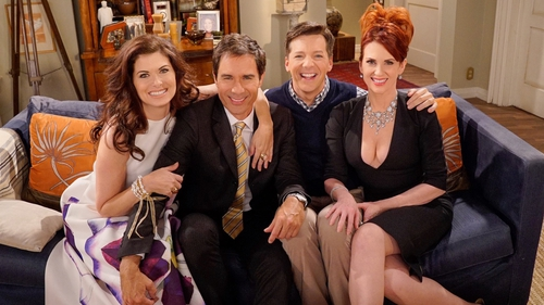 Debra Messing, Eric McCormack, Sean Hayes and Megan Mullaly are back!