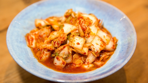 Alix Gardner's Cookery School shares their recipe for super easy and healthy Cabbage Kimchi!