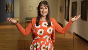 Painting The Nation host Pauline McLynn