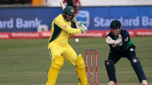 Usman Khawaja was named man of the match for his unbeaten 82