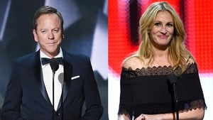 Kiefer Sutherland and Julia Roberts