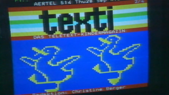 Teletext Conference in Kilkenny (1989)